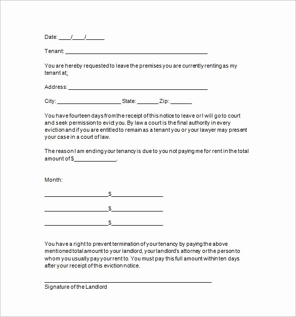 Baby Eviction Notice Template Fresh 22 Sample Eviction Notice Templates Pdf Google Docs
