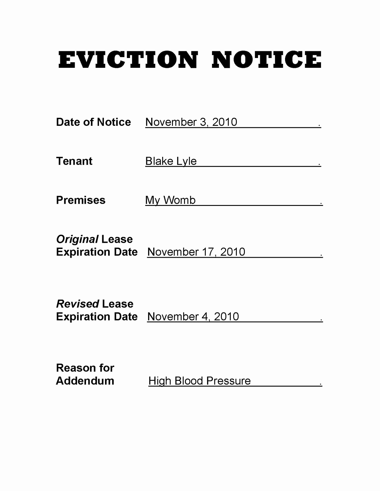 Baby Eviction Notice Template New Does This Count as A Baby Book E Hundred Three It S