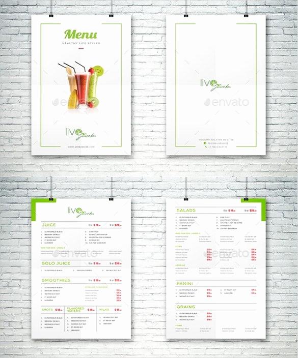 Bar Menu Template Free New 24 Bar Menu Templates – Free Sample Example format