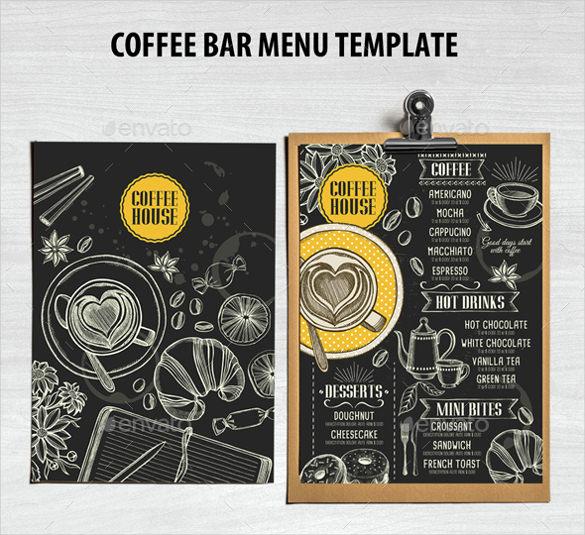 Bar Menu Template Free Unique 35 Bar Menu Templates Psd Eps Docs Pages