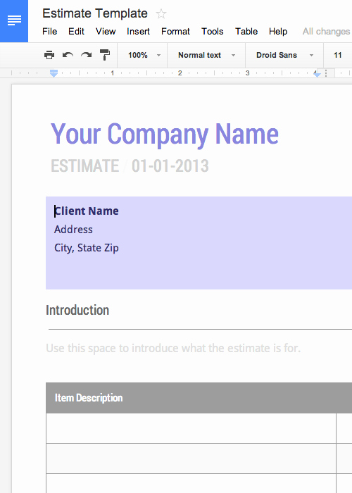 Basic Invoice Template Google Docs Awesome Free Invoice & Timesheet Templates Cashboard
