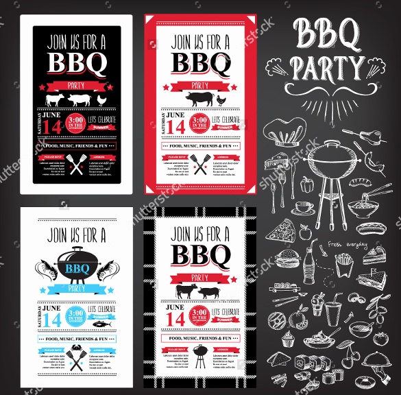 Bbq Catering Menu Template Inspirational Bbq Menu Templates – 27 Free Psd Epd Documents Download