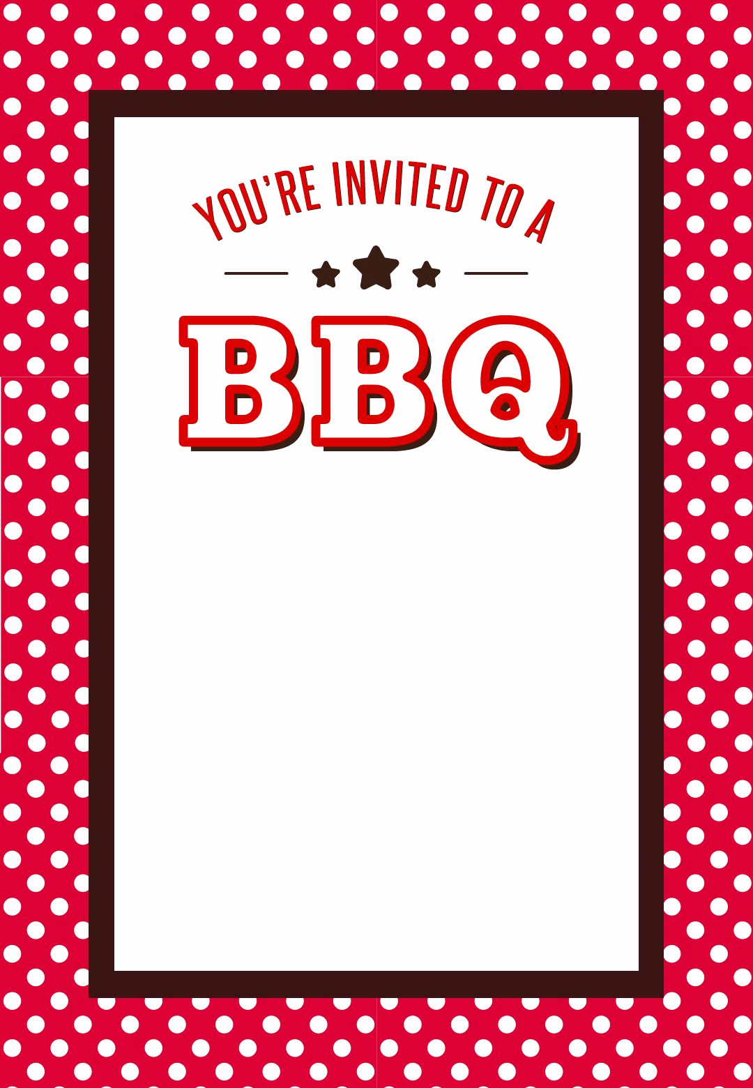 Bbq Menu Template Free Awesome Gratis Template Uitnodiging