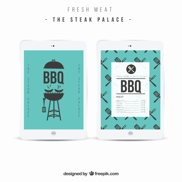 Bbq Menu Template Free Best Of Bbq Menu Template Vector