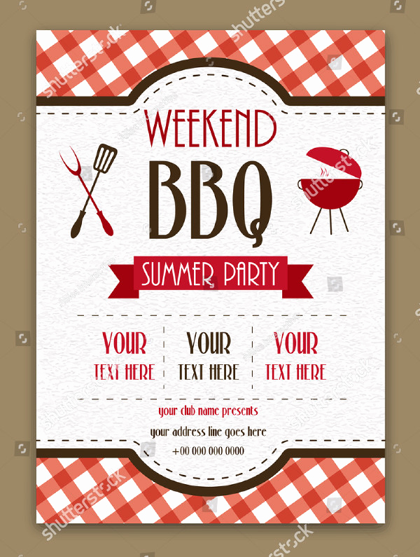 Bbq Menu Template Free Elegant 22 Printable Bbq Menu Templates Free & Premium Download
