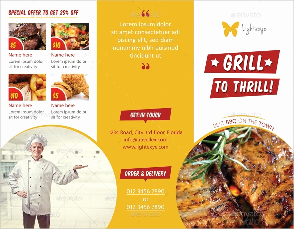 Bbq Menu Template Free Elegant Bbq Menu Templates – 27 Free Psd Epd Documents Download
