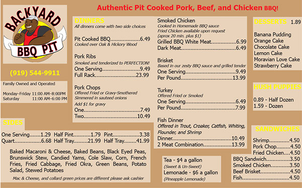 Bbq Menu Template Free Luxury 22 Printable Bbq Menu Templates Free & Premium Download