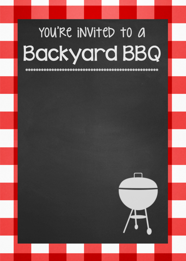 Bbq Menu Template Free New Outdoor Bbq Ideas for A Fun Summer Party – Fun Squared
