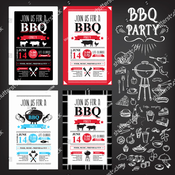 Bbq Menu Template Free Unique 22 Printable Bbq Menu Templates Free & Premium Download