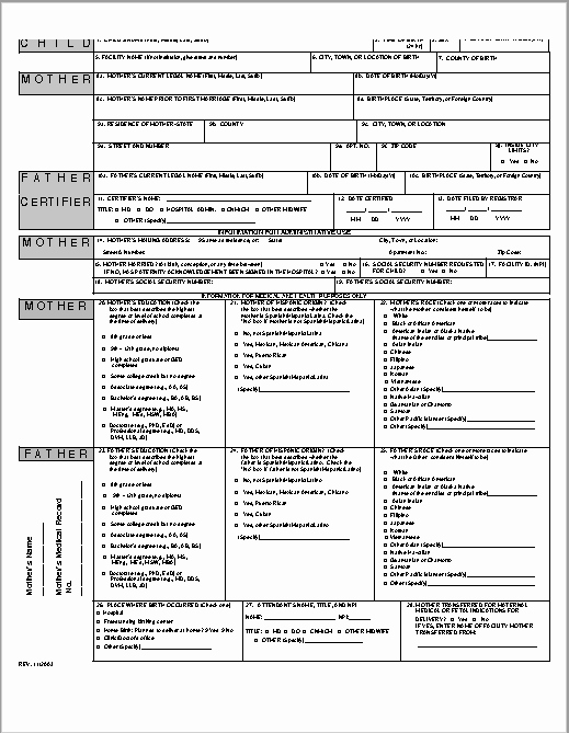 Birth Certificate Template Doc Lovely 14 Free Birth Certificate Templates In Ms Word & Pdf