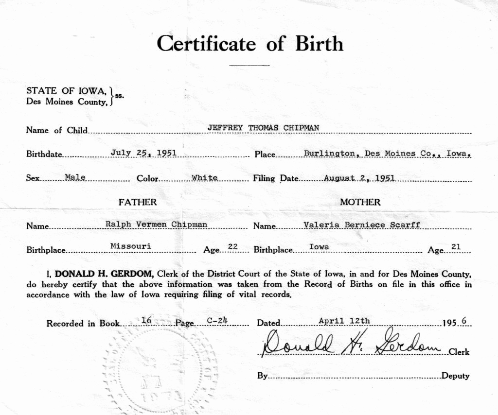 Birth Certificate Template Doc New 21 Free Birth Certificate Template Word Excel formats