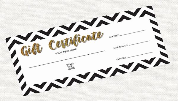 Blank Gift Certificate Template Word Elegant Blank Gift Certificate Template 13 Free Word Pdf
