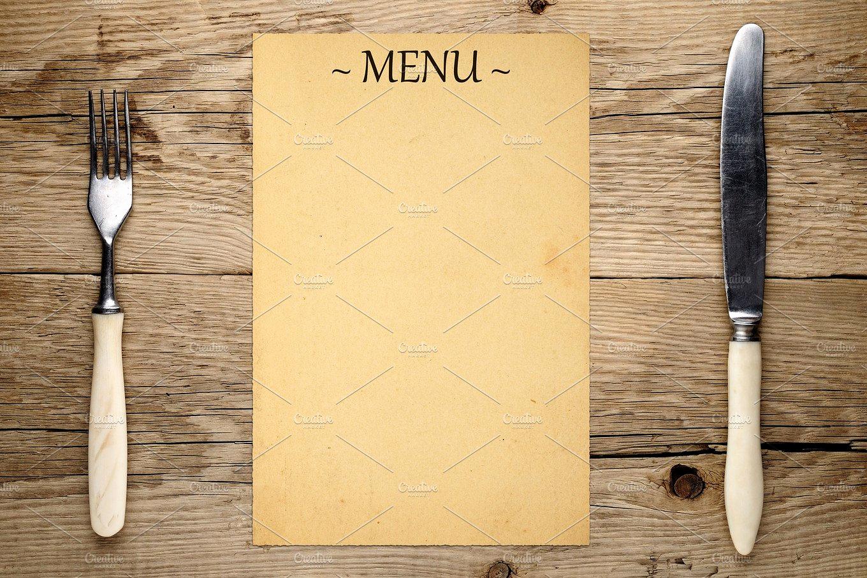 Blank Menu Template Free Download Inspirational 16 Blank Menu Designs Psd Vector format Download