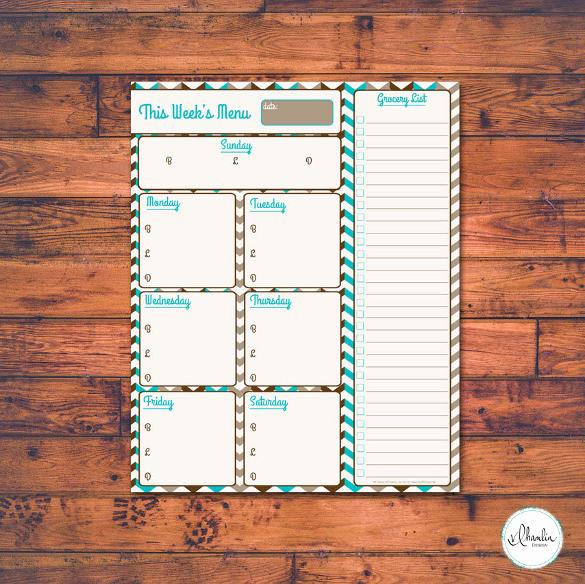 Blank Menu Template Free Download Luxury 37 Blank Menu Templates Pdf Ai Psd Docs Pages