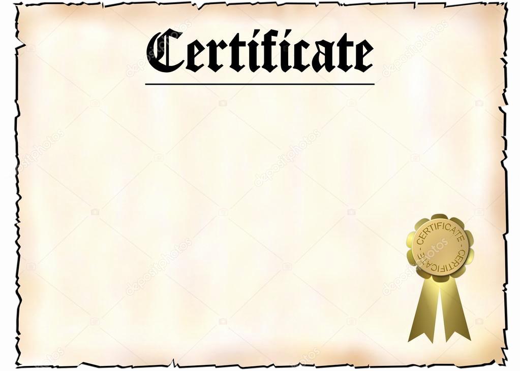 Blank Stock Certificate Template Free Inspirational Blank Certificate