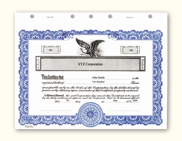 Blank Stock Certificate Template Free Lovely Stock Certificate Template Microsoft Word – Printable