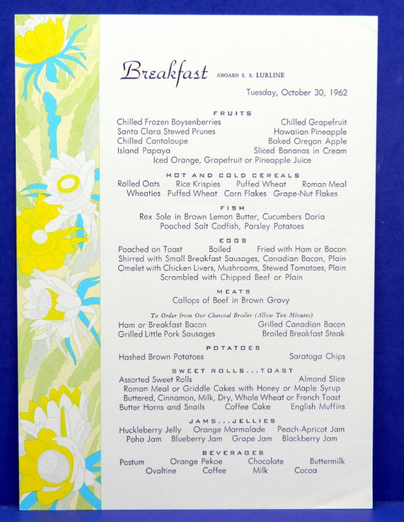 Breakfast Menu Template Free Awesome 32 Breakfast Menu Templates Free Sample Example format