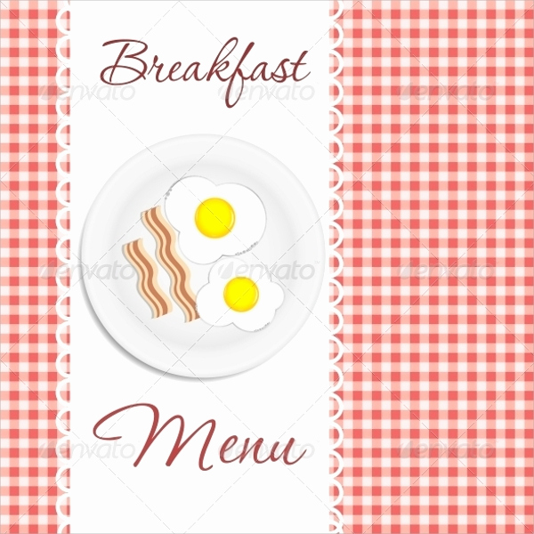 Breakfast Menu Template Free Beautiful 20 Sample Breakfast Menu Templates