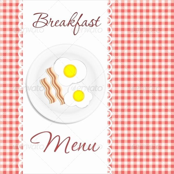 Breakfast Menu Template Free Beautiful 20 Sample Breakfast Menu Templates