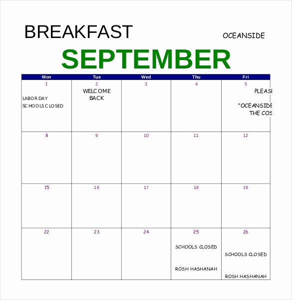 Breakfast Menu Template Free Best Of 47 Menu Templates Free Excel Pdf Word Psd