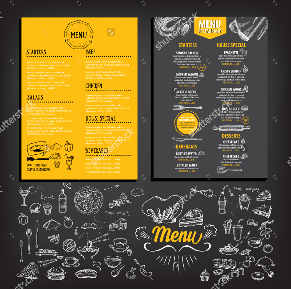 Breakfast Menu Template Free Lovely 32 Breakfast Menu Templates Free Sample Example format