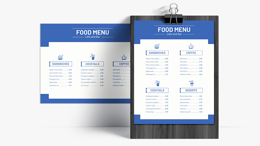 Breakfast Menu Template Free Lovely Free Downloadable Restaurant Menu Templates