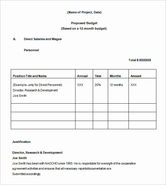 Budget Proposal Template Word Luxury Bud Proposal Template 22 Free Sample Example