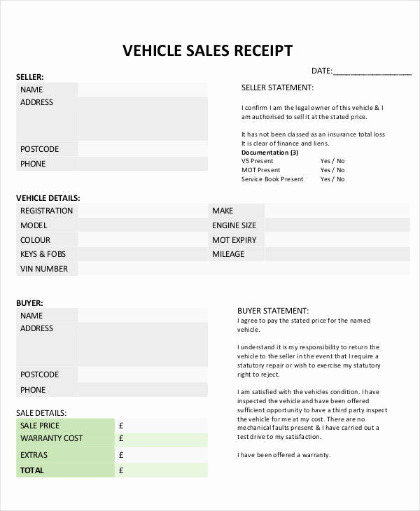 Car Sales Invoice Template Luxury Free 11 Car Sale Invoice Templates In Pdf Word