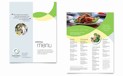 Catering Menu Template Word Best Of Free Restaurant Menu Template Download Word & Publisher