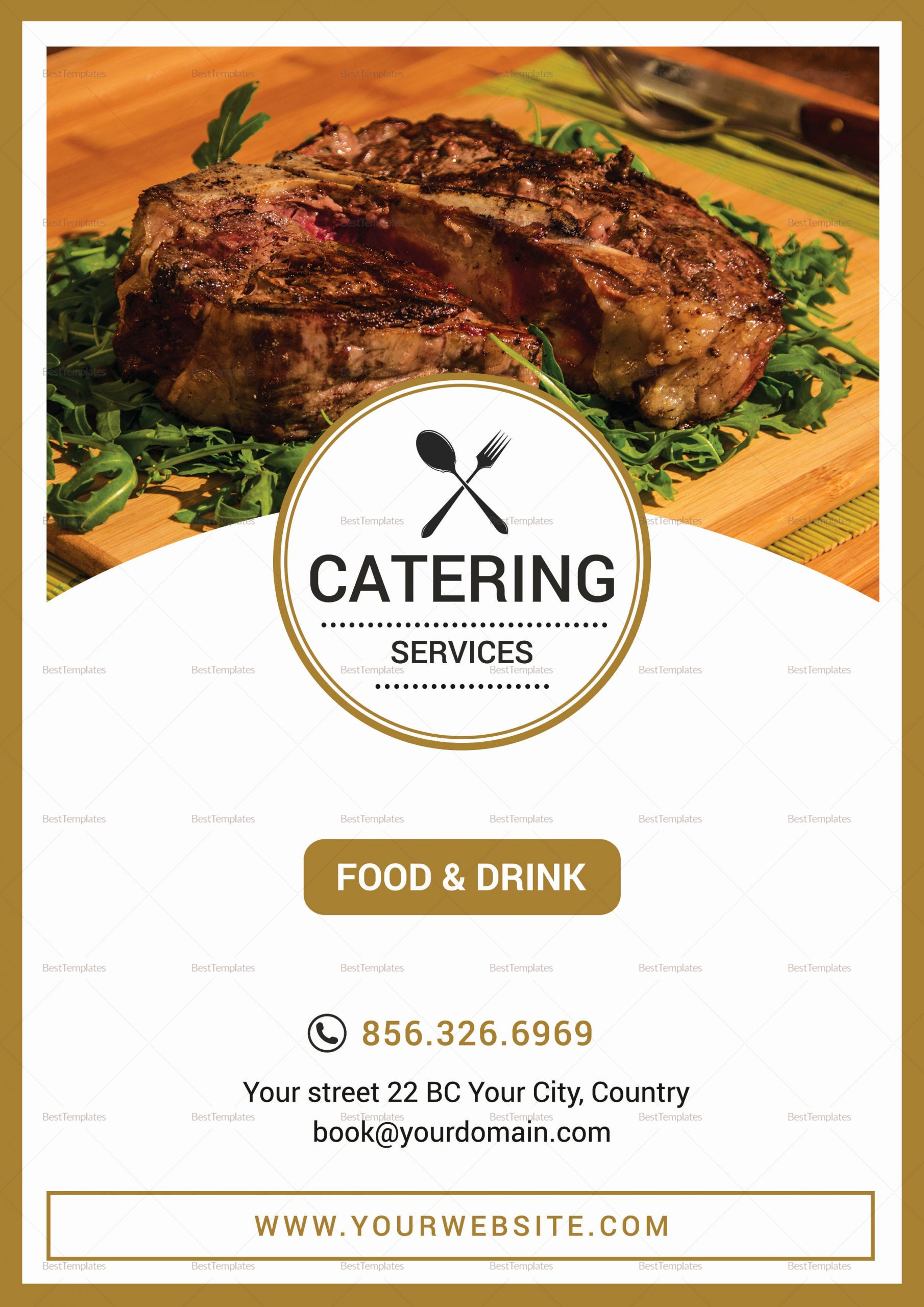Catering Menu Template Word New Catering Services Menu Design Template In Psd Publisher Word