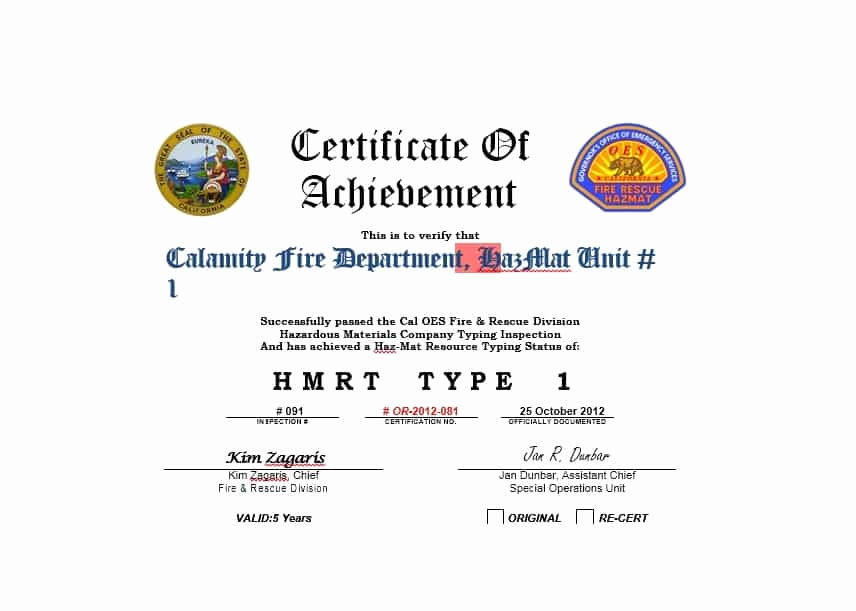 Certificate Of Accomplishment Template Elegant 40 Great Certificate Of Achievement Templates Free