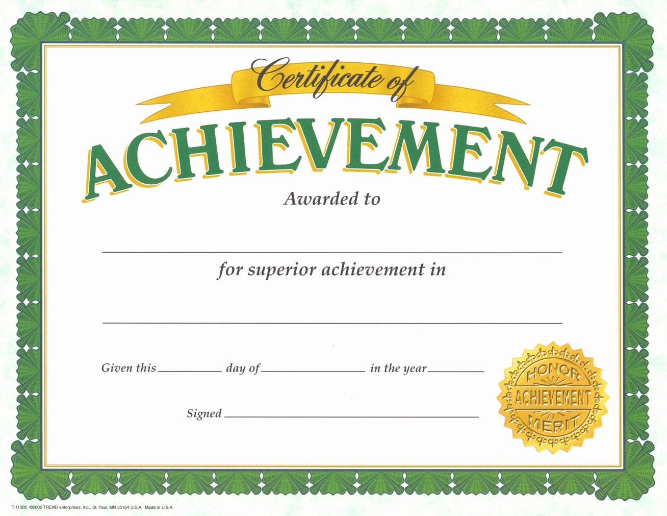 Certificate Of Accomplishment Template Inspirational Achievement Certificate Templates Pdf Printable