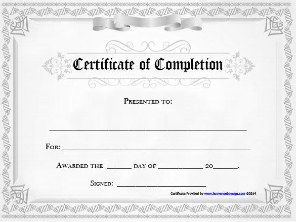Certificate Of Achievement Template Free Lovely 20 Free Certificate Of Pletion Template [word Excel Pdf]