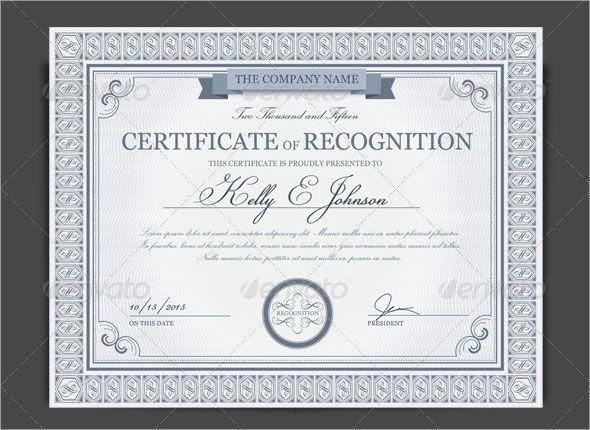 Certificate Of Appreciation Template Powerpoint Elegant the 25 Best Certificate Of Appreciation Ideas On