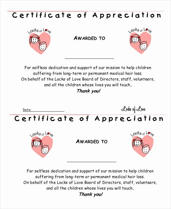 Certificate Of Appreciation Template Powerpoint Fresh Certificate Of Appreciation 28 Free Pdf Ppt Documents