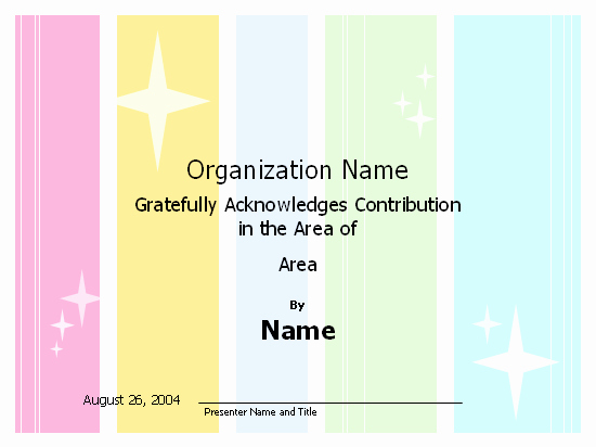 Certificate Of Appreciation Template Powerpoint Fresh Certificates Fice