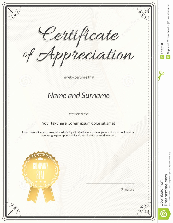 Certificate Of Appreciation Template Powerpoint Luxury Template Certificate Appreciation Ppt