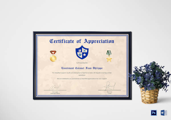 Certificate Of Appreciation Template Powerpoint Unique Certificate Of Appreciation 28 Free Pdf Ppt Documents