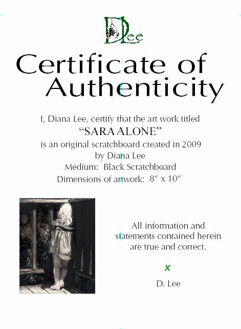 Certificate Of Authenticity Photography Template Beautiful How to Create A Certificate Of Authenticity Wetcanvas