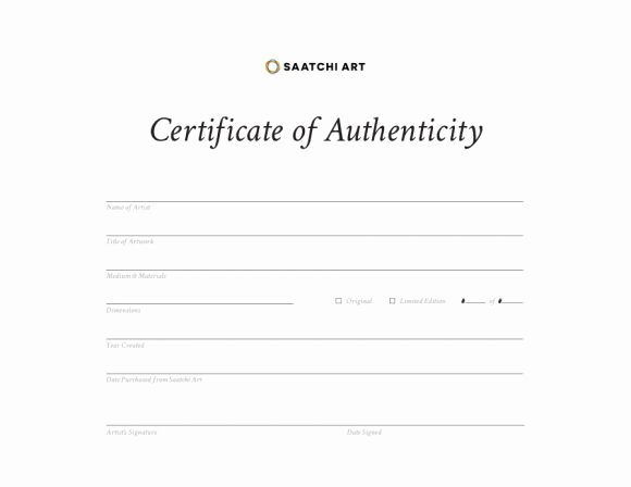 Certificate Of Authenticity Photography Template Fresh 37 Certificate Of Authenticity Templates Art Car