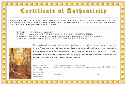 Certificate Of Authenticity Photography Template Lovely as You Wish Etiquette & Tips How to Buy Maintain