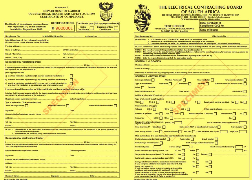 Certificate Of Compliance Template Lovely Electrical Certificate Of Pliance & Inspections