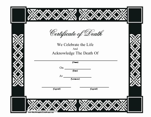 Certificate Of Life Template New 1000 Images About Printables On Pinterest