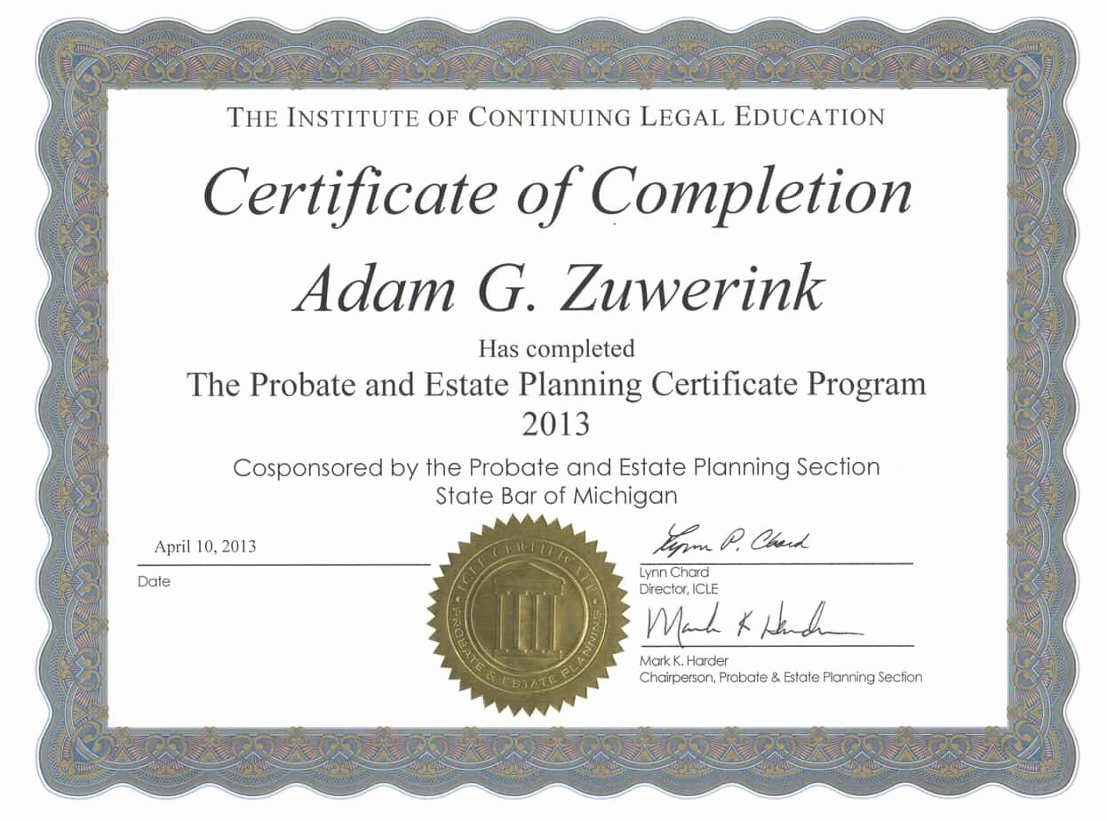 Certificates Of Completion Template Luxury 13 Certificate Of Pletion Templates Excel Pdf formats