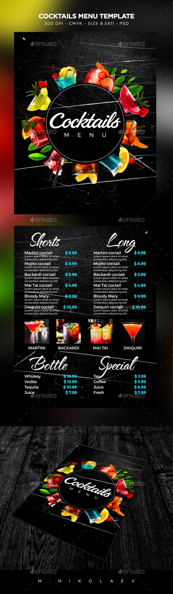 Cocktail Menu Template Free Lovely Pin About Drink Menu and Cocktail Menu On the Encore Bar