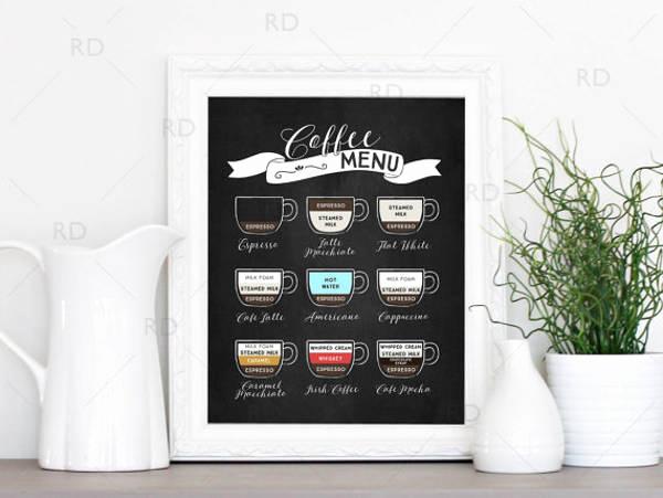 Coffee Shop Menu Template Free Best Of 13 Coffee Shop Menu Designs & Templates Psd Ai