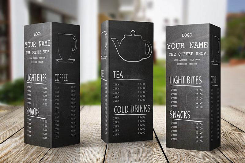 Coffee Shop Menu Template Free Unique Free Menu Design Template