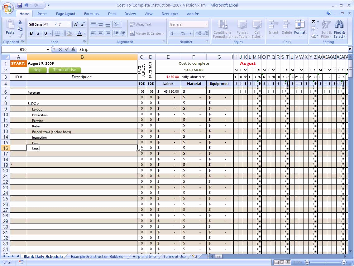 Commercial Construction Budget Template Awesome Mercial Construction Estimating Spreadsheet Spreadsheet