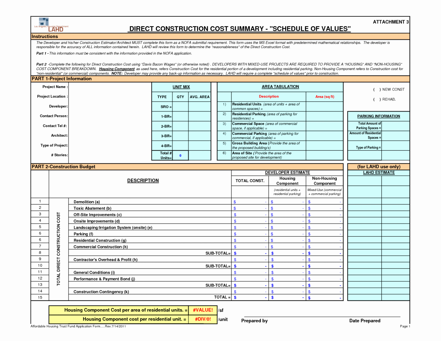 Commercial Construction Budget Template Lovely Construction Project Management Excel Spreadsheet Ost
