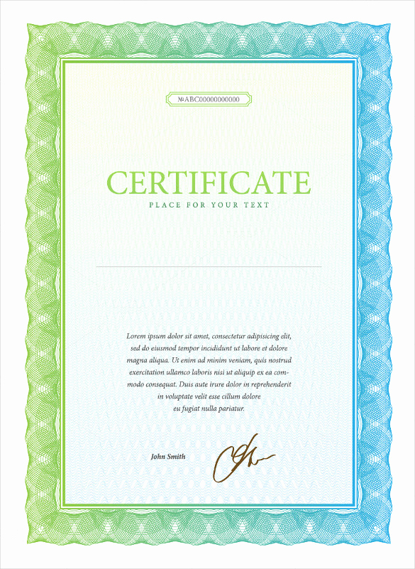 Common Stock Certificate Template Beautiful Stock Certificate Template